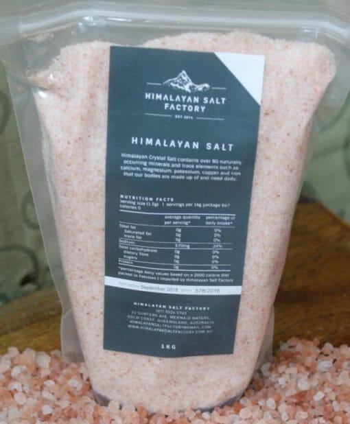 1kg Fine Himalayan Salt   Himalayan Salt Factory