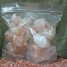 Himalayan Salt Chunks 500g x 2   Himalayan Salt Factory