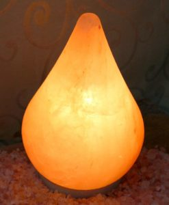 Crafted Himalayan Teardrop Salt Lamp | Himalayan Salt Factory