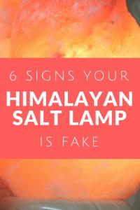 6 Signs Your Himalayan Salt Lamp Is Fake | Himalayan Salt Factory