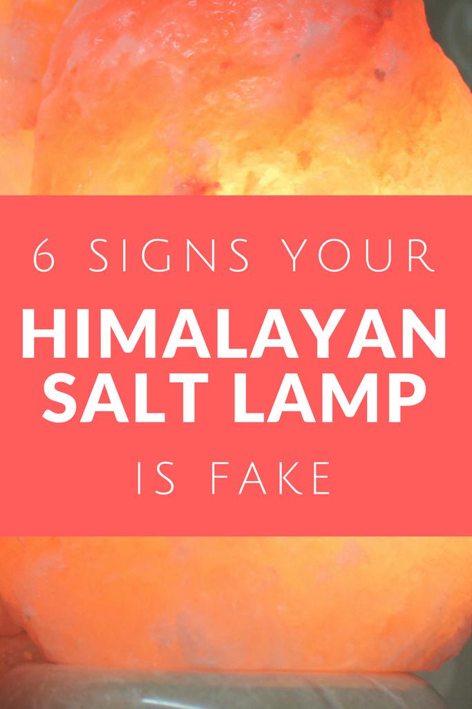 6 Signs Your Himalayan Salt Lamp Is Fake | Himalayan Salt ...