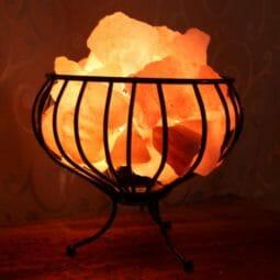 Small Fire Cage (3 Prong) | Himalayan Salt Factory