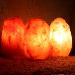 3 X 2-3kg Himalayan Salt Lamp Pack (3 legs-No Base) | Himalayan Salt Factory