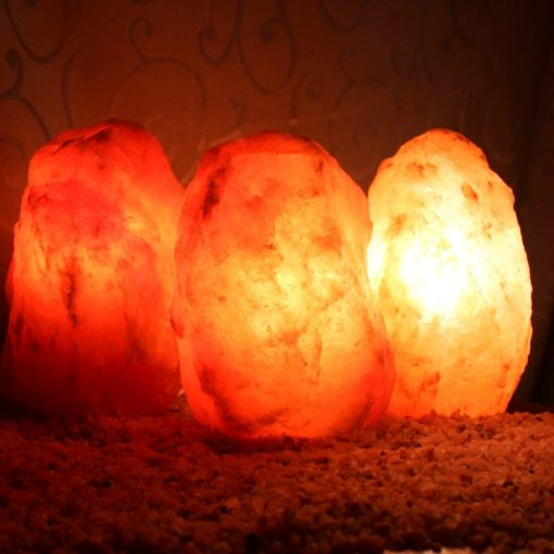 3 X 2-3kg Himalayan Salt Lamp Pack (3 legs-No Base) | Himalayan Salt Factory