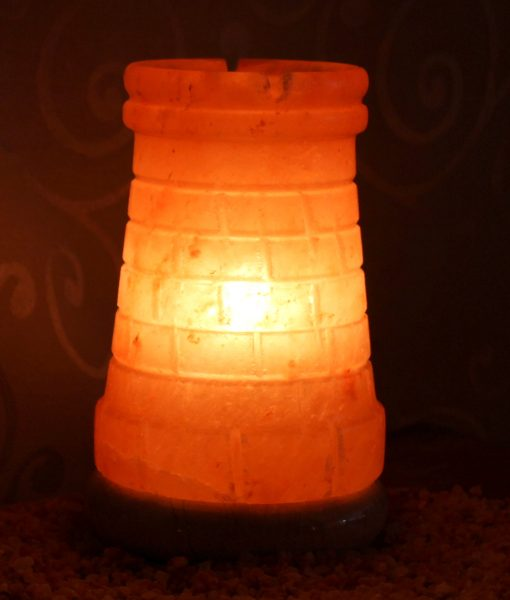 Castle Turret Salt Lamp Himalayan Salt Factory
