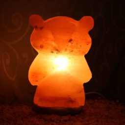 Crafted Himalayan Hoot The Owl Salt Lamp | Himalayan Salt Factory