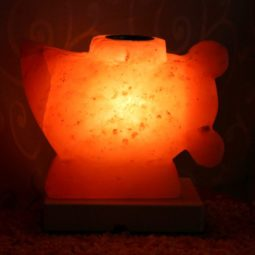 Crafted Aladdin Oil Salt Lamp | Himalayan Salt Factory