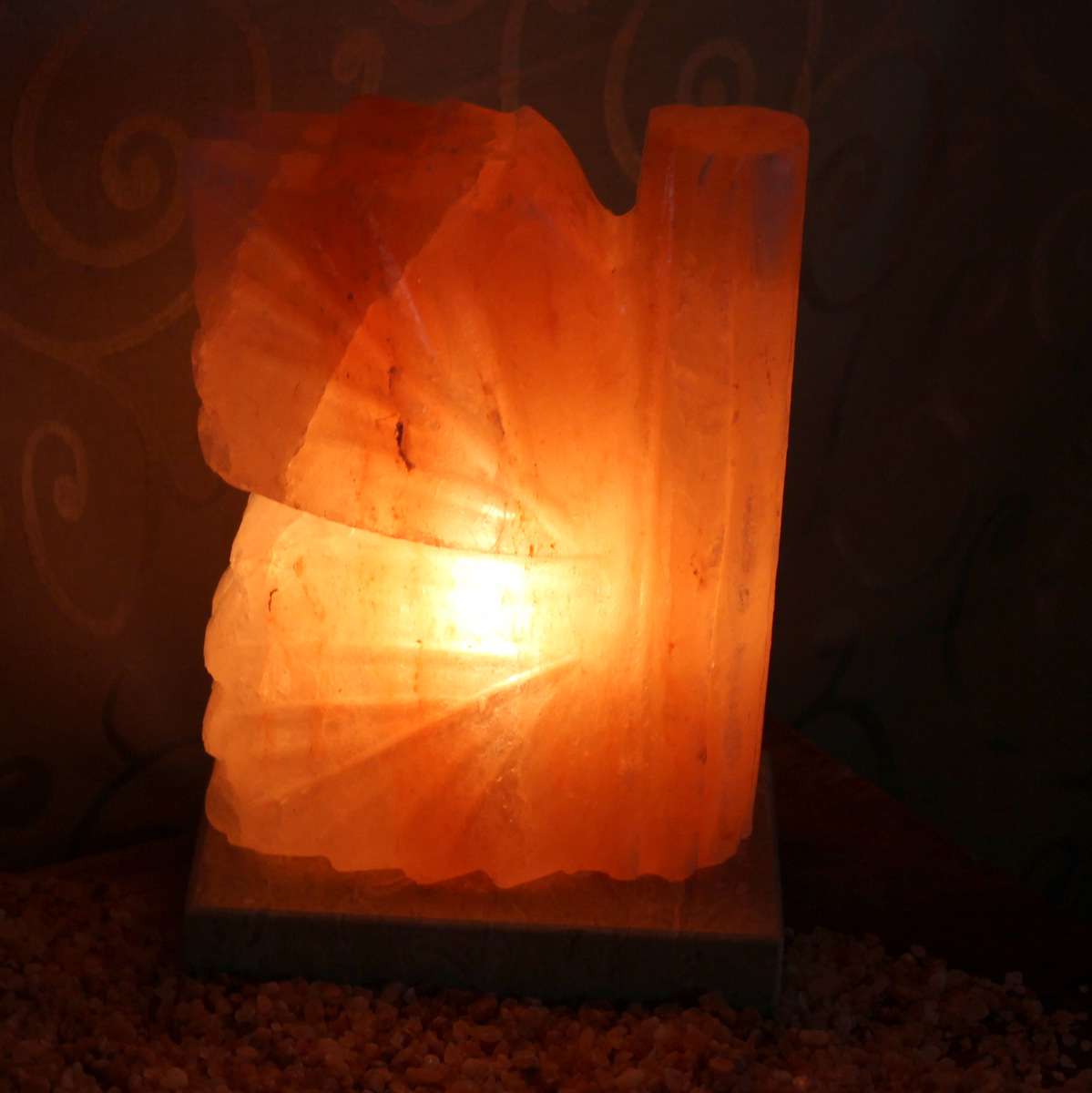 Ishka Himalayan Salt Lamps : Butterfly Salt Lamp Himalayan Salt Factory