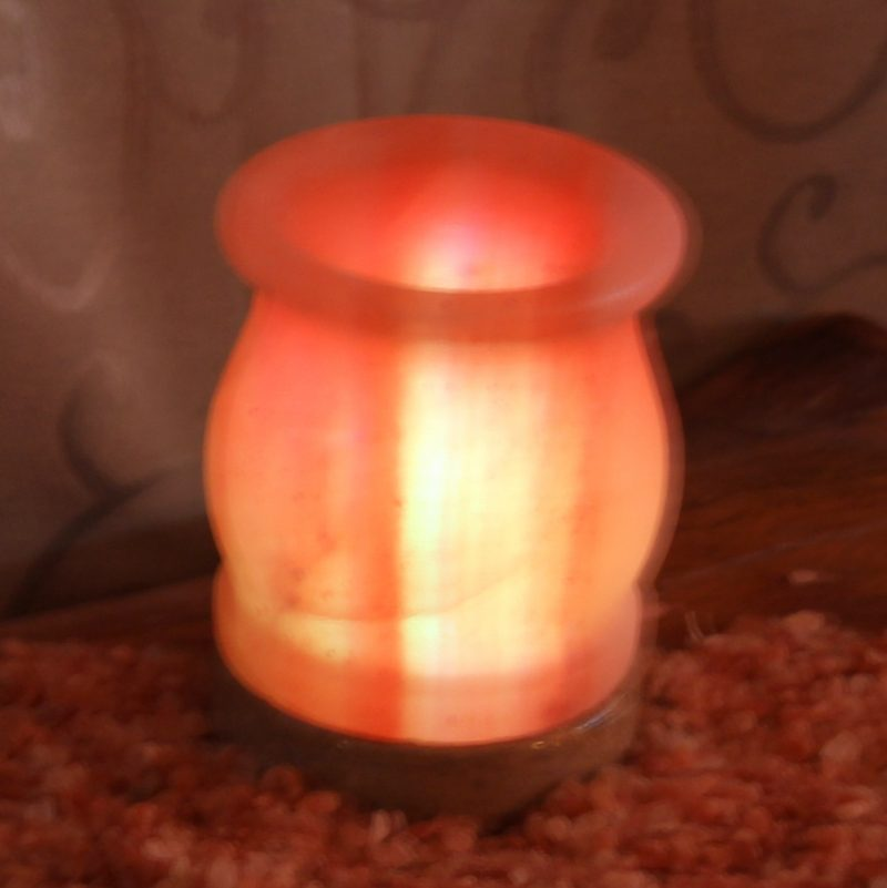 USB Vase Salt Lamp Himalayan Salt Factory