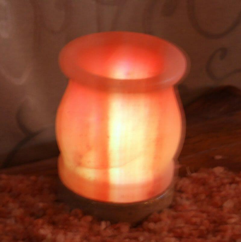 Salt Lamps On Afterpay : USB Vase Salt Lamp Himalayan Salt Factory