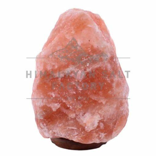 12-15kg Natural Shaped Himalayan Salt Lamp Timber Base   Himalayan Salt Factory