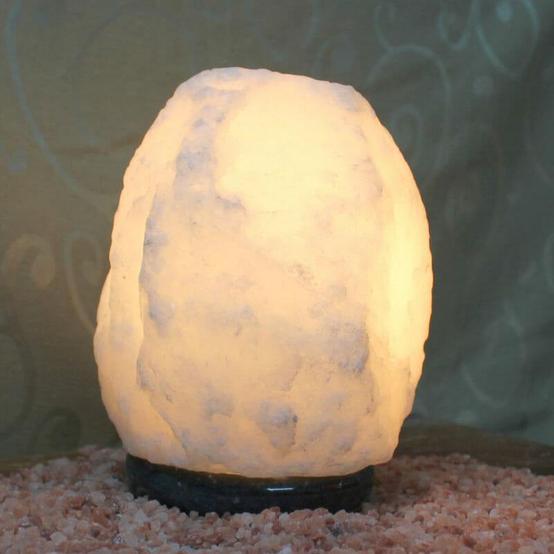 2-3kg White Himalayan Salt Lamp Himalayan Salt Factory