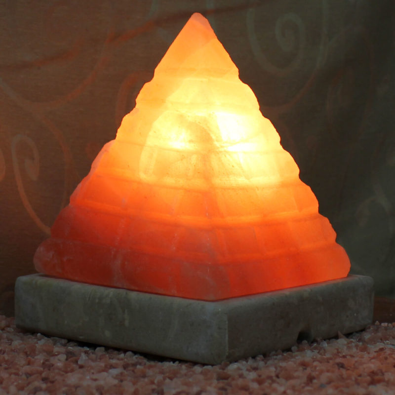 Salt Lamps On Afterpay : Pyramid Brick Design Salt Lamp Himalayan Salt Factory