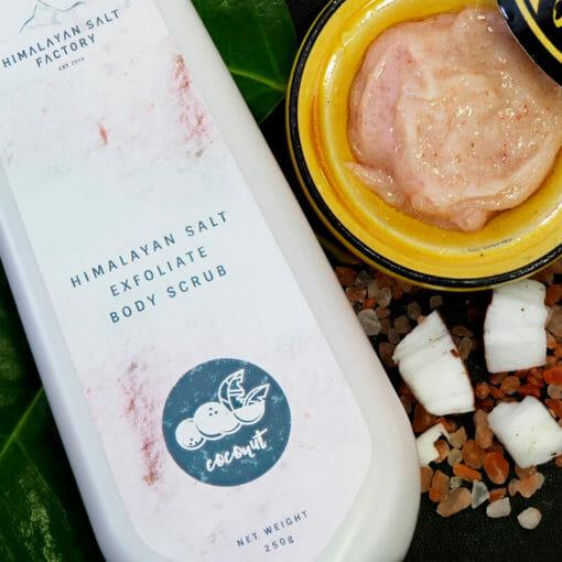 Himalayan Salt Exfoliate Body Scrub | Himalayan Salt Factory
