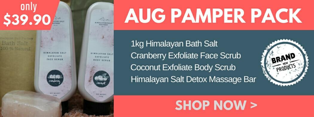 Himalayan Salt - Aug Pamper Pack