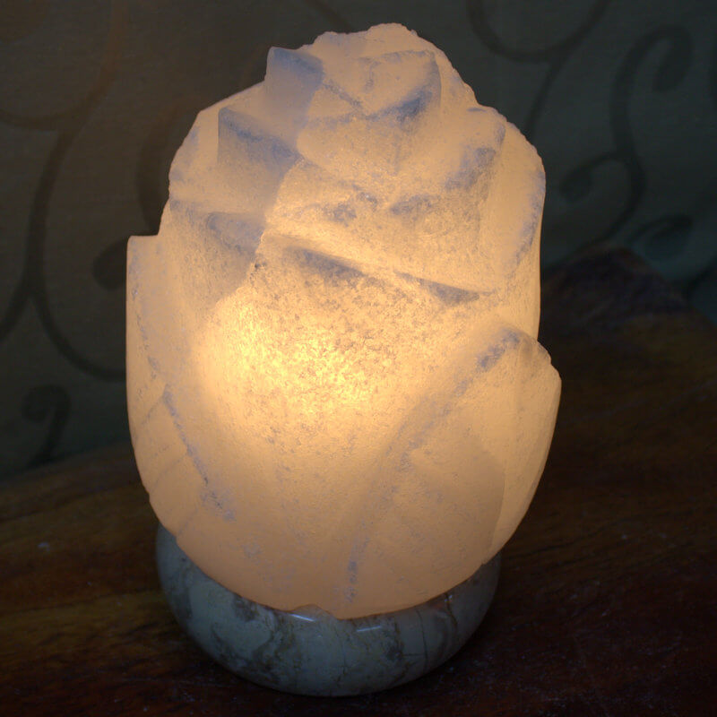 Salt Lamps On Afterpay : White Rose Salt Lamp Himalayan Salt Factory