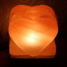 Crafted Himalayan Heart Salt Lamp | Himalayan Salt Factory