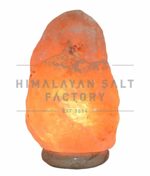 5-7kg Natural Shaped Himalayan Salt Lamp Marble Base | Himalayan Salt Factory