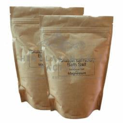 2x 700g Himalayan Bath Salt + Magnesium | Himalayan Salt Factory
