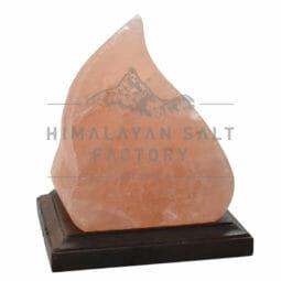 Crafted Himalayan Wave Salt Lamp | Himalayan Salt Factory