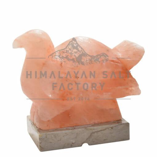Crafted Himalayan Dove Wings Down Salt Lamp | Himalayan Salt Factory