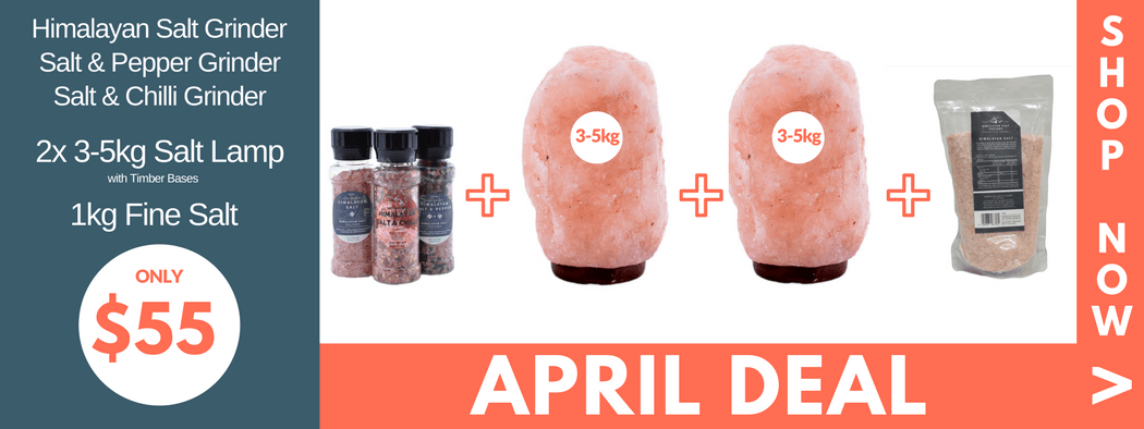 Himalayan Salt - April Deal
