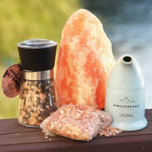 Himalayan Salt Essentials Pack   Himalayan Salt Factory