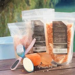 Himalayan Salt Foot Spa Pack | Himalayan Salt Factory
