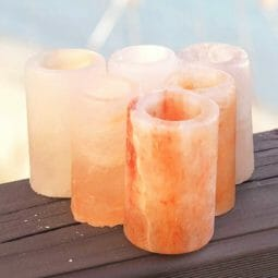 Himalayan Salt Shot Glasses x 6 | Himalayan Salt Factory