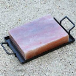 Large Himalayan Salt Cooking Block with Tray | Himalayan Salt Factory