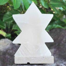 White Star Salt Lamp | Himalayan Salt Factory