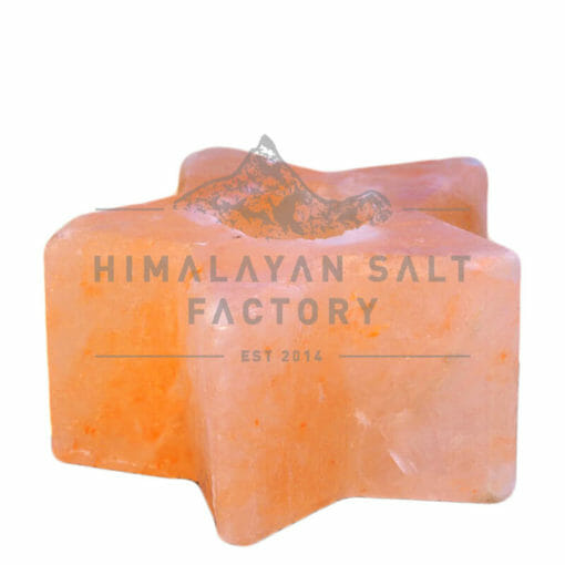 Star Shaped Tealight Candle Holder | Himalayan Salt Factory