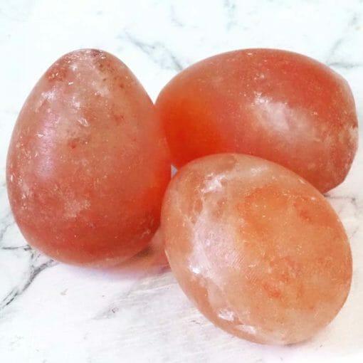 Himalayan Salt Egg Shaped Massage Bars | Himalayan Salt Factory