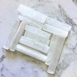 Mini selenite stick   Himalayan Salt Factory