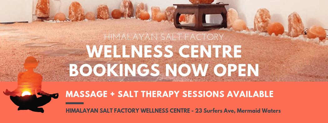 Wellness Centre Bookings Now Open | Himalayan Salt Factory