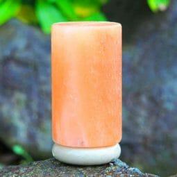 Cylinder shape Himalayan salt lamp I Himalayan Salt Factory