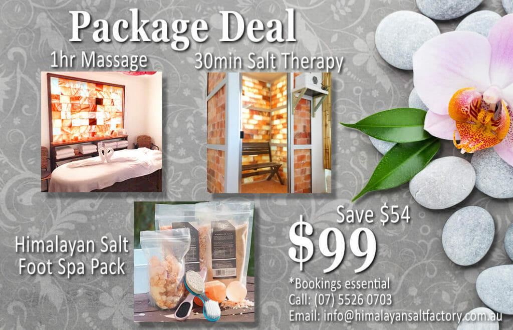 Massage Package Deal 1 | Himalayan Salt Factory