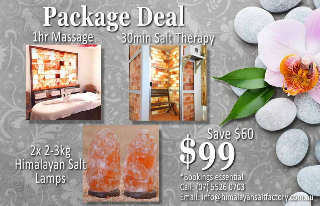 Massage Package Deal 2 | Himalayan Salt Factory