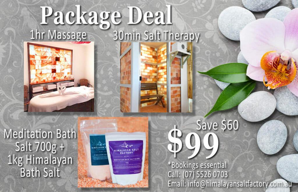 Massage Package Deal 3 | Himalayan Salt Factory