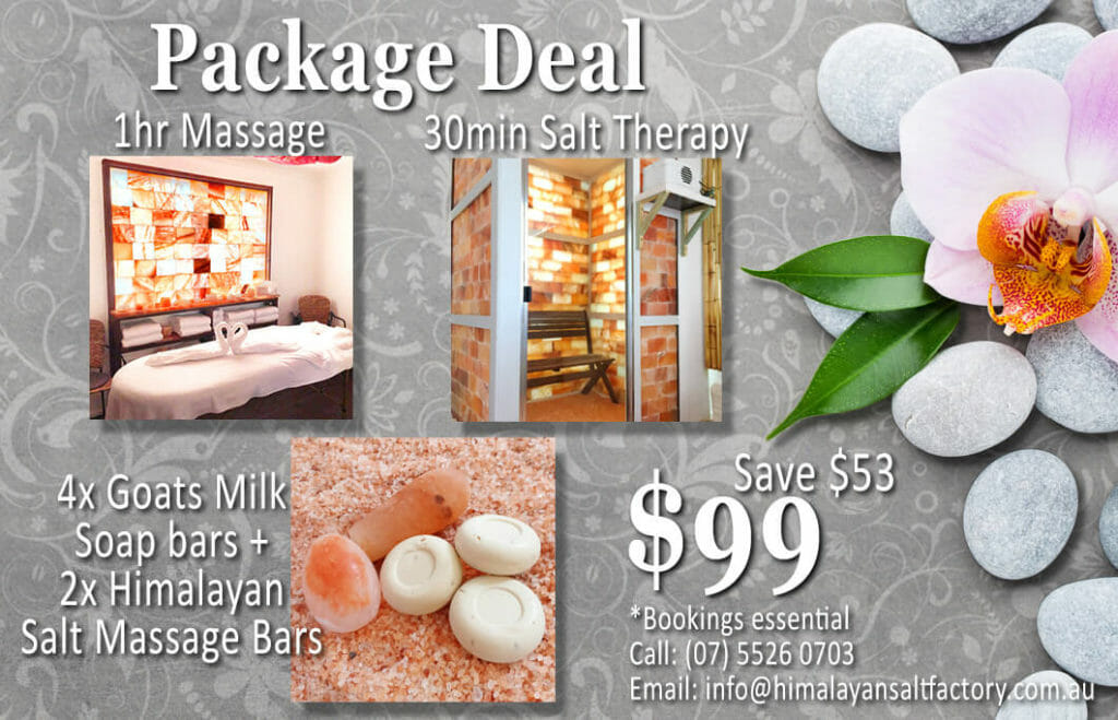 Massage Package Deal 4 | Himalayan Salt Factory