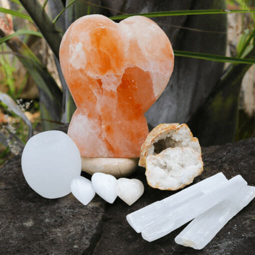 Birthday Deal 2 – Selenite Love | Himalayan Salt Factory
