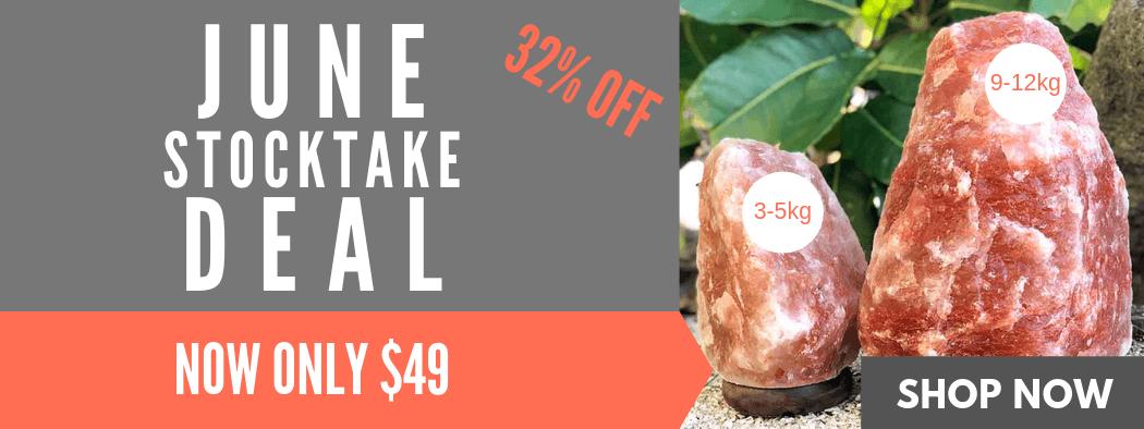 June Stocktake Deal   Himalayan Salt Factory
