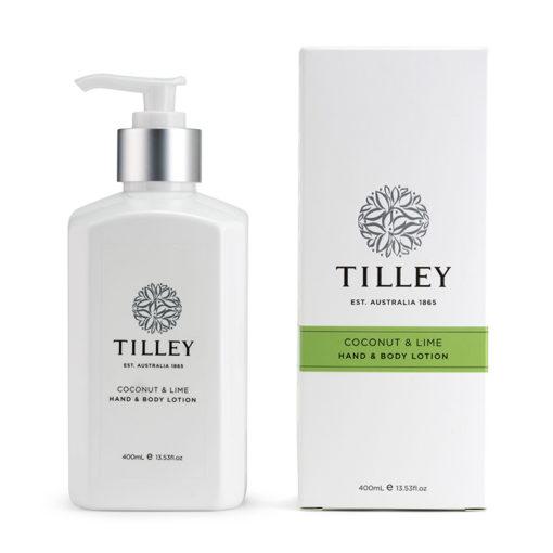 Tilley Body Lotion Coconut Lime 400ml | Himalayan Salt Factory