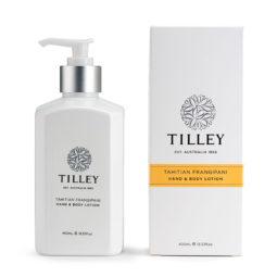 Tilley Body Lotion Tahitian Frangipani 400ml   Himalayan Salt Factory