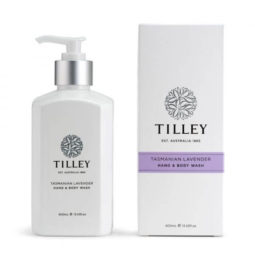 Tilley Body Wash Tasmanian Lavender 400ml   Himalayan Salt Factory