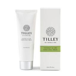 Tilley Hand and Nail Cream Coconut Lime 125ml | Himalayan Salt Factory