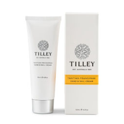 Tilley Hand and Nail Cream Tahitian Frangipani-125ml | Himalayan Salt Factory