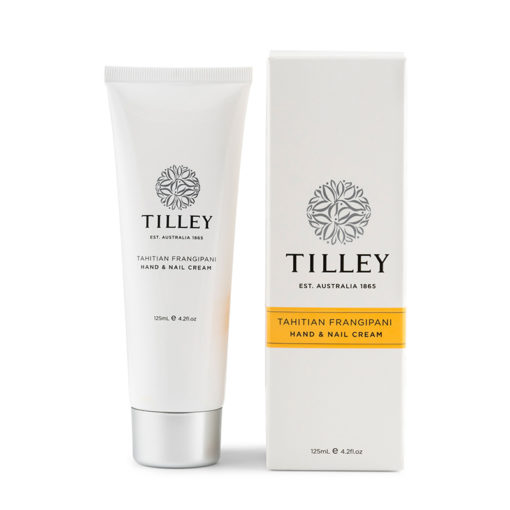 Tilley Hand and Nail Cream Tahitian Frangipani-125ml | Himalayan Salt Factory