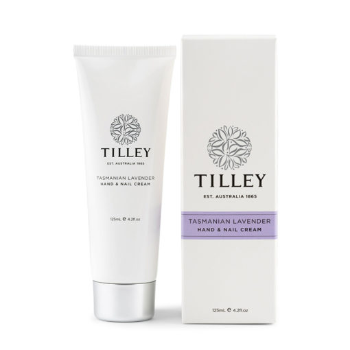 Tilley Hand and Nail Cream Tasmanian Lavender-125ml | Himalayan Salt Factory