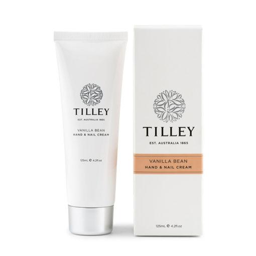 Tilley Hand and Nail Cream Vanilla Bean-125ml | Himalayan Salt Factory